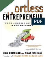 Effortless Entrepreneur by Nick Friedman and Omar Soliman - Excerpt
