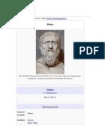 Platón el filosofo
