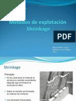 4.-Métodos de Explotación Shrinkage