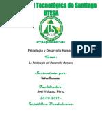 Tarea Semana I Psicologia y Desarrollo Humano Bolivar Hernandez