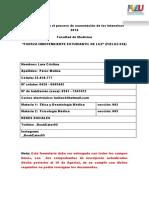 Formulario Para El Proceso de Exoneración de Los Intensivos 2016
