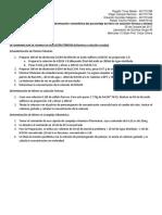 Determinación de Hierro en Solución Ferrosa Procedimiento