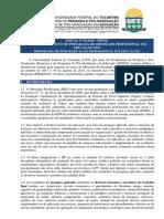 Edital Nº 05.2018 - PPGE-Processo Seletivo Do Mestrado Profissional Em Educação (1)