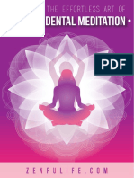 Master the Art of Transcedental Meditation