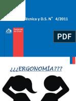 NORMA TÉCNICA - D.S. 4-2011 Ergonomia-A.serrano