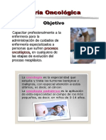 enfermeria oncologica pediatrica