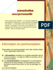 Intro à La Communication