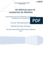 Carpeta Módulo Recursos Humanos  TNS Administración.doc