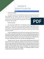 BAGIAN IV Mekanika Kuantum