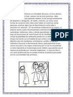 PREJUICIO Desarrollo Peron