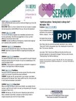 Growth Guide Week of November 20