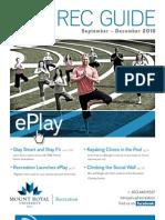Fall 2010 Rec Guide