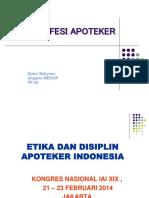 Kul ETIKA PROFESI UGM  2017 - LENGKAP DENGAN KODE ETIK DAN DISIPLIN - REVISED.pptx