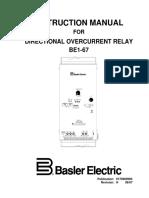 Be1-67 Instruction Manual