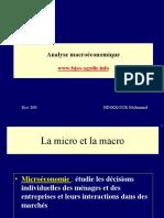Analyse macroéconomique  pr . bnikkou.ppt