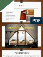 Tema 8 Capinteria de Madera