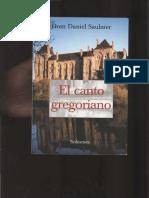 El Canto Gregoriano - SAULNIER, Daniel