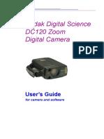 Instrukcja Kodak Dc120 En