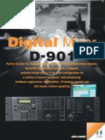 D 901 Brochure