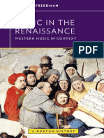 Music in the Renaissance - FREEDMAN, Richard