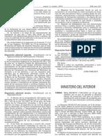 RD 1196/2003, por el que se aprueba la Directriz Básica de Protección Civil para el control y planificación ante el riesgo de accidentes graves en los que intervienen sustancias peligrosas