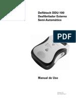 Manual Del DEA du-100e