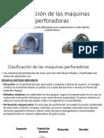 Clasificacion de Perforadoras