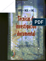 Jurado Yolanda - Tecnicas De Investigacion Documental.pdf