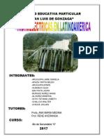 Las Hidroelectricas en Latinoamerica