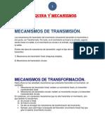 Maquina y Mecanismos Album