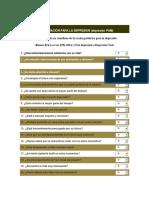 Cuestionario Estructural Tetradimensional-DePRESION- AutorRamos Brieva Escala Gediatrica