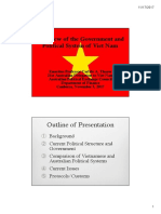 Thayer, Overview of the Government and Political System of Viet Nam