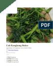 1 Cah Kangkung Bakso