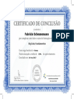 Certificado Big Data Fundamentos