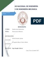 Proteción de Motores Monografía