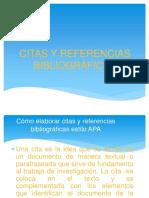Citas y Referencias Bibliográficas Del Estilo Apa
