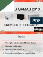 Presentación Nueva gama de Unidades de Filtración SODECA