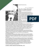 Biografía Konrad Lorenz