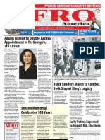 Prince George's County Afro-American Newspaper, August 28, 2010