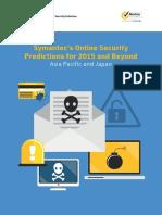 15730 Symantec Predictions 2015 Guide