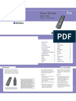 SXC-1080 User Manual Ed 00