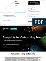 Blueprints for Onboarding Teams