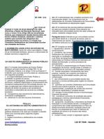 LEI Nº 7040 - Gestão Democrática - Conteúdo