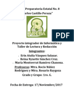 INTEGRADORA INFORMÁTICA 2017