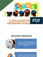 Evaluacion de Las Decisiones Financieras