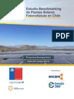 Informe Benchmarking Plantas Solares Fotovoltaicas Actualización