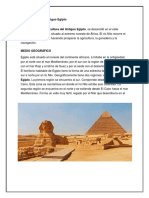 Cultura Egipcia o Antiguo Egipto