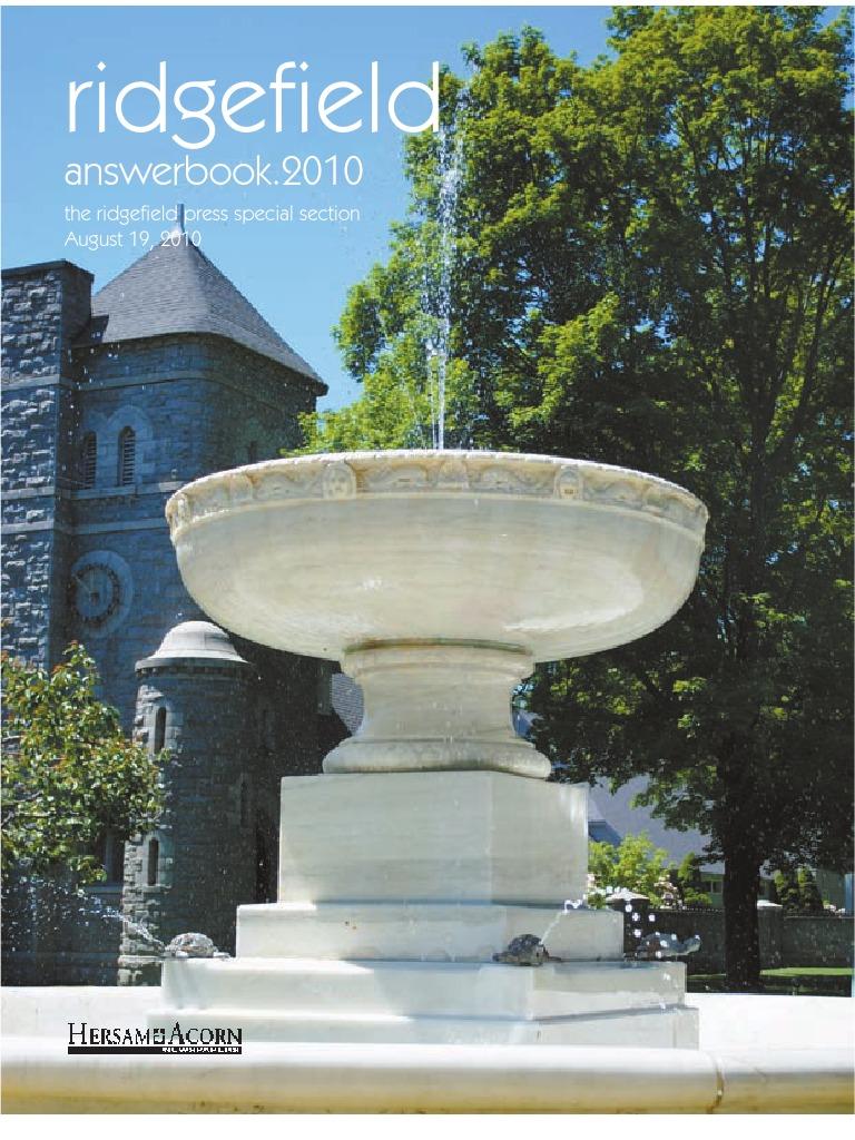 ridgefield answer book 2010 property tax birth certificate