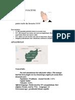 Plan de Rugaciune Afganistan