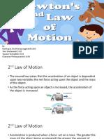 newton 2nd law